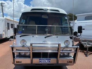1997 Toyota Coaster White Campervan.