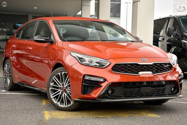 New Kia Cerato BD MY21 GT DCT Reynella, 2020 Kia Cerato BD MY21 GT DCT Orange 7 Speed Sports Automatic Dual Clutch Hatchback