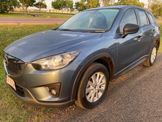 2014 Mazda CX-5 KE1021 MY14 Maxx SKYACTIV-Drive AWD Sport Blue 6 Speed Sports Automatic Wagon.