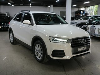 2018 Audi Q3 8U MY18 TFSI S Tronic White 6 Speed Sports Automatic Dual Clutch Wagon.