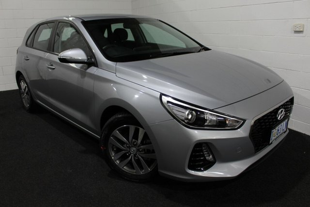Used Hyundai i30 PD2 MY19 Active Glenorchy, 2019 Hyundai i30 PD2 MY19 Active Typhoon Silver 6 Speed Sports Automatic Hatchback