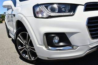 2017 Holden Captiva CG MY17 LTZ AWD White 6 Speed Sports Automatic Wagon.