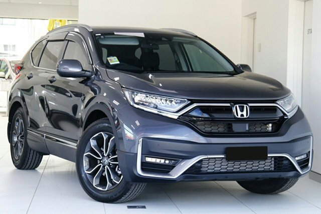 New Honda CR-V RW MY21 VTi FWD L7 Newstead, 2020 Honda CR-V RW MY21 VTi FWD L7 Modern Steel 1 Speed Automatic Wagon
