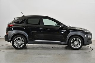2018 Hyundai Kona OS MY18 Elite 2WD Black 6 Speed Sports Automatic Wagon