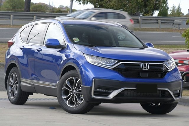 New Honda CR-V RW MY21 VTi FWD L7 Newstead, 2020 Honda CR-V RW MY21 VTi FWD L7 Cosmic Blue 1 Speed Automatic Wagon