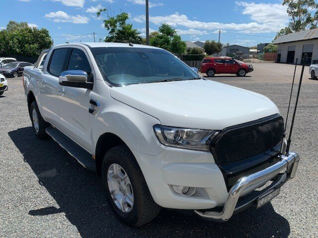 Used Ford Ranger PX XLT 3.2 (4x4) Gunnedah, 2015 Ford Ranger PX XLT 3.2 (4x4) White 6 Speed Automatic Double Cab Pick Up