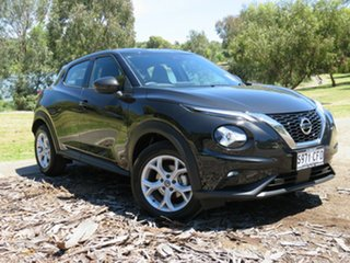 2020 Nissan Juke F16 ST+ DCT 2WD Pearl Black 7 Speed Sports Automatic Dual Clutch Hatchback.