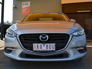 2017 Mazda 3 BN5278 Maxx SKYACTIV-Drive Silver 6 Speed Sports Automatic Sedan