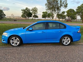 2009 Ford Falcon FG XR6 Blue 5 Speed Sports Automatic Sedan