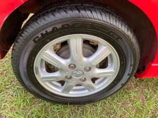 2011 Holden Barina Spark MJ MY11 CD Red 5 Speed Manual Hatchback