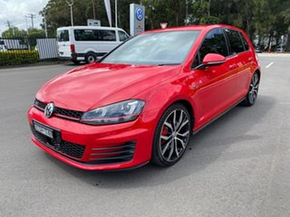 2013 Volkswagen Golf VII MY14 GTI DSG Red 6 Speed Sports Automatic Dual Clutch Hatchback.