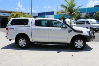 2016 Ford Ranger PX MkII XLT Double Cab White 6 speed Automatic Utility