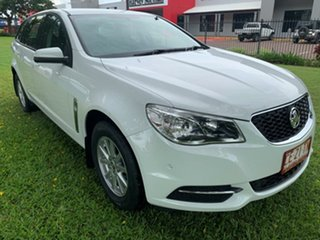 2015 Holden Commodore VF MY15 Evoke Sportwagon White 6 Speed Sports Automatic Wagon.