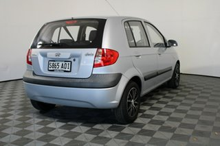 2010 Hyundai Getz TB MY09 S Silver 5 Speed Manual Hatchback