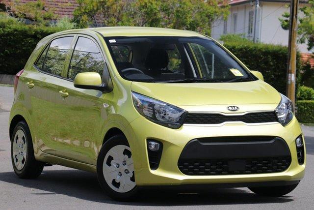 New Kia Picanto JA MY21 S St Marys, 2020 Kia Picanto JA MY21 S Lime Green 4 Speed Automatic Hatchback