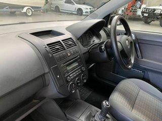 2008 Volkswagen Polo 9N MY2008 Club Black 5 Speed Manual Hatchback