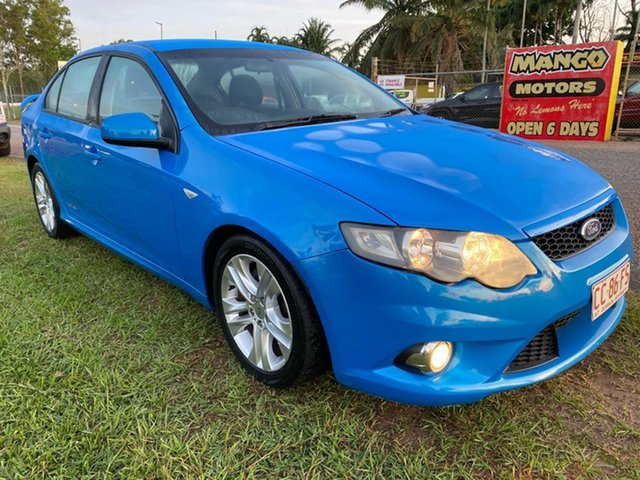Used Ford Falcon FG XR6 Pinelands, 2009 Ford Falcon FG XR6 Blue 5 Speed Sports Automatic Sedan