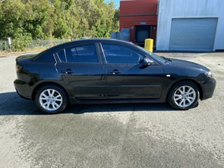 2006 Mazda 3 BK MY06 Upgrade Maxx Sport Black 4 Speed Auto Activematic Hatchback.