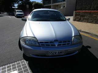 2002 Ford Falcon AUII XLS Marlin Silver 4 Speed Automatic Utility