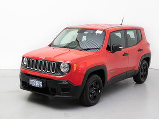 2016 Jeep Renegade BU Sport Red 5 Speed Manual Wagon