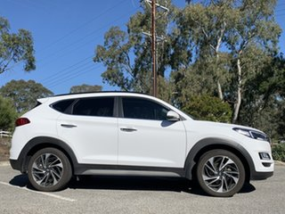 2019 Hyundai Tucson TL3 MY20 Highlander AWD Pure White 8 Speed Sports Automatic Wagon