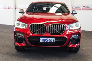 2018 BMW X4 G02 MY19 M40I Red 8 Speed Automatic Coupe.