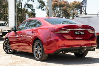 2016 Mazda 6 GJ1022 Atenza SKYACTIV-Drive Red 6 Speed Sports Automatic Sedan.