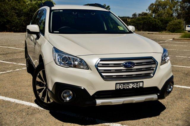 Used Subaru Outback B6A MY15 2.5i CVT AWD St Marys, 2015 Subaru Outback B6A MY15 2.5i CVT AWD White 6 Speed Constant Variable Wagon