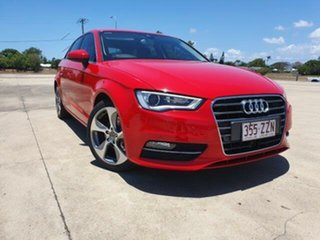 2013 Audi A3 8P MY13 Ambition Sportback S Tronic Brilliant Black 7 Speed.