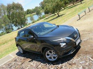 2020 Nissan Juke F16 ST+ DCT 2WD Pearl Black 7 Speed Sports Automatic Dual Clutch Hatchback.
