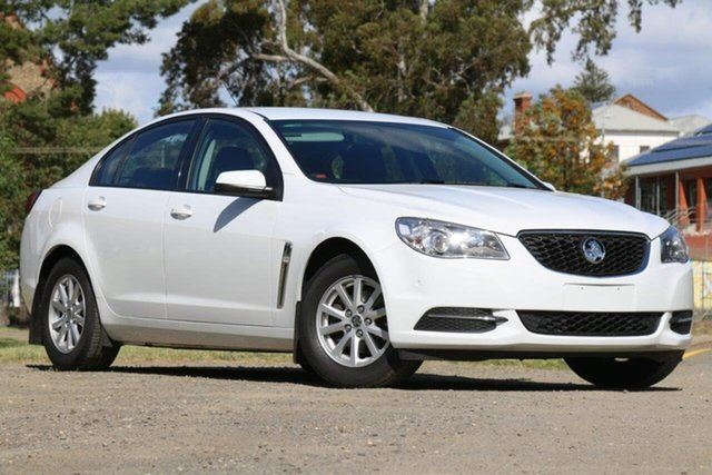Used Holden Commodore VF II MY17 Evoke Clare, 2017 Holden Commodore VF II MY17 Evoke White 6 Speed Sports Automatic Sedan