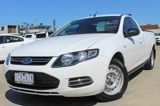 2014 Ford Falcon FG MkII EcoLPi Ute Super Cab White 6 Speed Sports Automatic Utility.