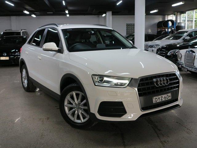 Used Audi Q3 8U MY18 TFSI S Tronic Albion, 2018 Audi Q3 8U MY18 TFSI S Tronic White 6 Speed Sports Automatic Dual Clutch Wagon