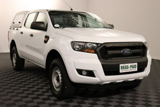2017 Ford Ranger PX MkII XL White 6 speed Automatic Utility.