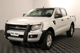 2014 Ford Ranger PX XL White 6 speed Automatic Utility.