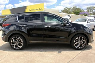 2019 Kia Sportage QL MY20 GT-Line AWD Cherry Black 6 Speed Sports Automatic Wagon.