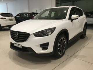 2015 Mazda CX-5 KE1032 Akera SKYACTIV-Drive AWD White 6 Speed Sports Automatic Wagon