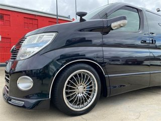 2008 Nissan Elgrand E51 Highwaystar Black Automatic Wagon