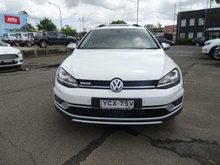 2015 Volkswagen Golf VII MY16 Alltrack DSG 4MOTION 132TSI Candy White 6 Speed