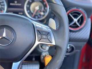 2014 Mercedes-Benz A-Class W176 A45 AMG SPEEDSHIFT DCT 4MATIC Red 7 Speed