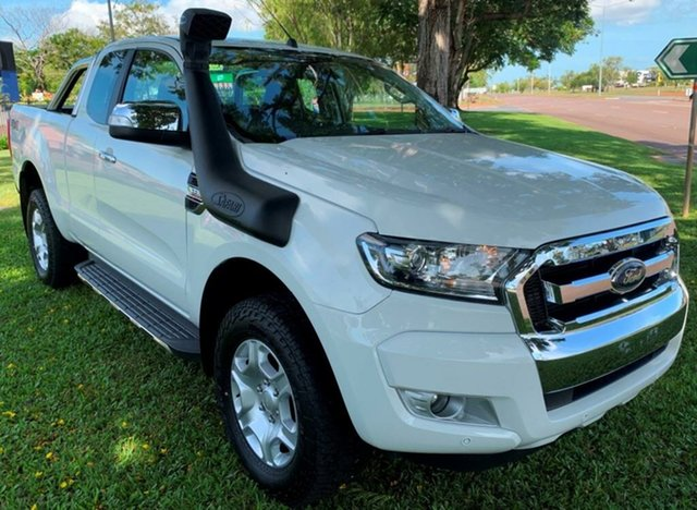 Used Ford Ranger PX MkIII 2019.00MY XLT Winnellie, 2018 Ford Ranger PX MkIII 2019.00MY XLT White 6 Speed Sports Automatic Utility