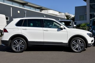 2019 Volkswagen Tiguan 5N MY19.5 162TSI DSG 4MOTION Highline White 7 Speed.