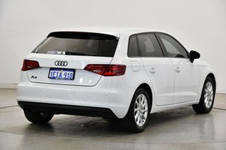 2013 Audi A3 8V Attraction Sportback S Tronic White 7 Speed Sports Automatic Dual Clutch Hatchback