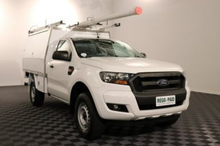 2016 Ford Ranger PX MkII XL Hi-Rider Cool White 6 speed Automatic Cab Chassis.