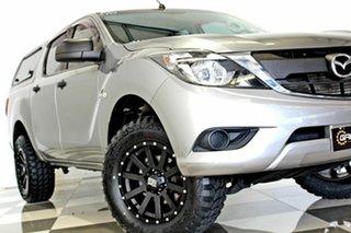 2017 Mazda BT-50 MY17 Update XT Hi-Rider (4x2) Grey 6 Speed Automatic Dual Cab Utility.