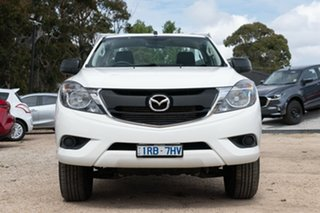 2017 Mazda BT-50 UR0YG1 XT 4x2 Hi-Rider White 6 Speed Manual Cab Chassis