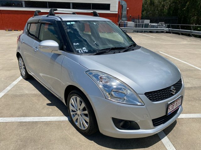 Used Suzuki Swift FZ GLX Morayfield, 2011 Suzuki Swift FZ GLX Silver 5 Speed Manual Hatchback