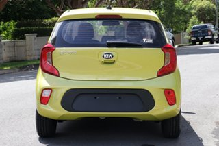 2020 Kia Picanto JA MY21 S Lime Green 4 Speed Automatic Hatchback