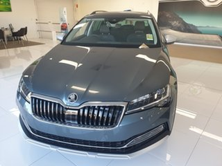 2020 Skoda Superb NP MY20.5 200TSI DSG Scout Quartz Grey 7 Speed Sports Automatic Dual Clutch Wagon.