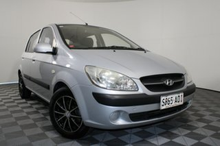 2010 Hyundai Getz TB MY09 S Silver 5 Speed Manual Hatchback.